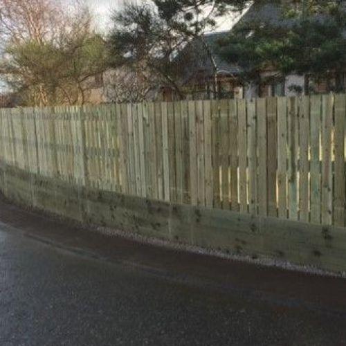 retaining wall and fence Allt Mor.jpg